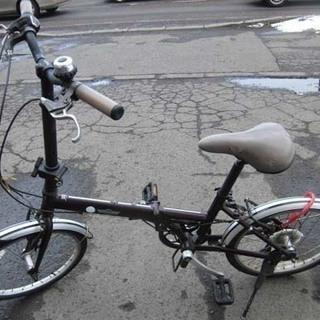 南12条店 MINI 折りたたみ自転車 20インチ 7段変速