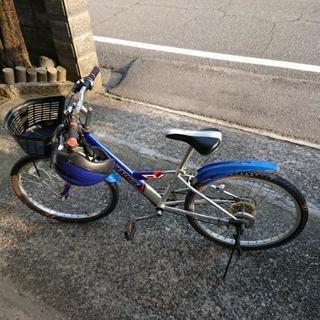 子供用自転車、ヘルメットです