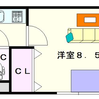 【アドバンス難波レーヴ】1号タイプ!1Kタイプ!ネットが無料☆