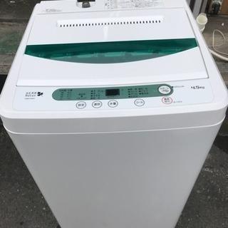 洗濯機 ヤマダ電機 4.5kg洗い 2015年 一人暮らし 単身用...