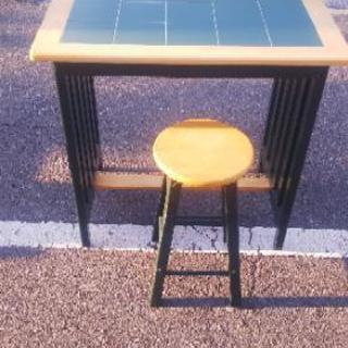 ハイテーブル、チェア セット