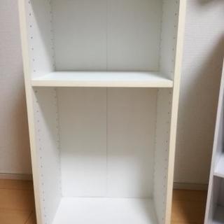 カラーボックス(白) 棚