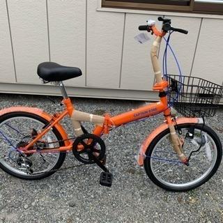 Captain Stag 20インチ折りたたみ自転車(未使用新品)