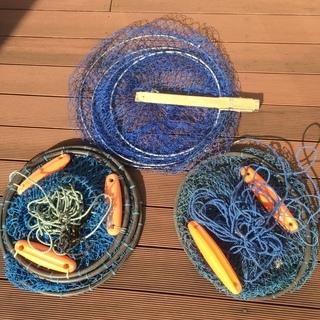 釣り用品 中古 スカリ3種類