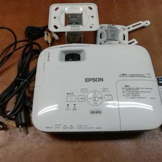 EPSON EB-W10 100インチスクリーン付