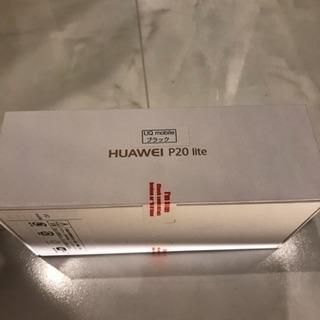 P20 lite Huawei UQ版 ミッドナイトブラック 黒 ...