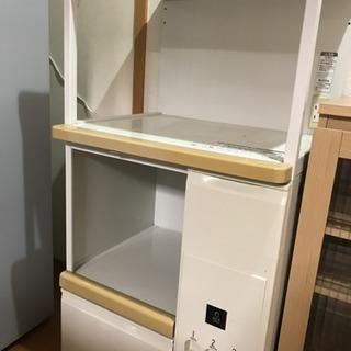 キッチンボード キッチン収納 レンジ台 米びつ