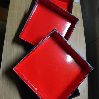 赤黒貼り3段箱