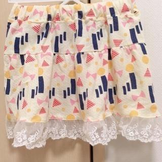 春夏スカート 90センチ - 横浜市