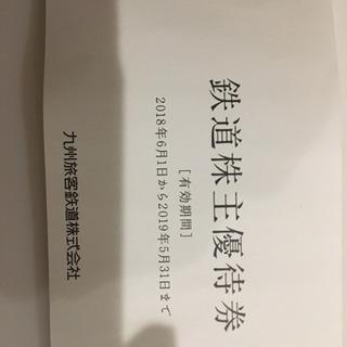 JR九州の株主優待券