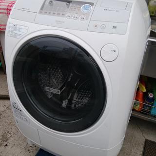 《姫路》日立☆ななめ型ドラム式洗濯乾燥機(ビッグドラム) (洗9k...