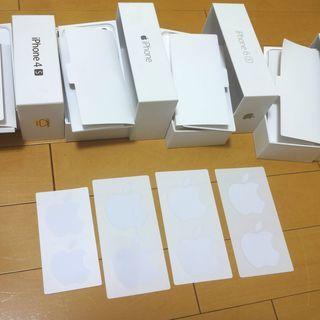 ■Apple 純正 ロゴ シール ステッカー 4シート(8枚)セ...
