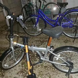 中古 折りたたみ自転車