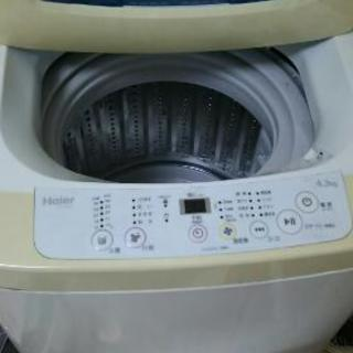 4.2キロのHaierの洗濯機です。