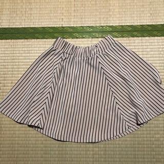 ストライプ 大人っぽいスカート