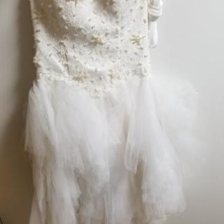【未使用】白ドレス【値下げしました】