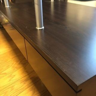 ニトリ製ガラステーブル