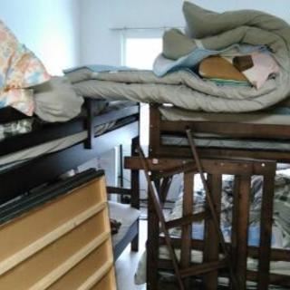 二段ベット 寝具は別途相談