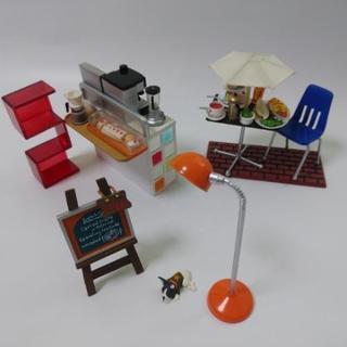 ミニチュア リトルカフェ~オープンカフェ編~/8種類セット
