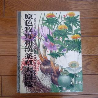 植物図鑑「原色牧野和漢薬草大図鑑」差し上げます。