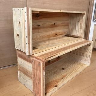 ◇木箱◇収納棚やプランター、おもちゃ箱、ガーデンに