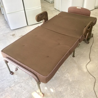 ◇◆ATEX◇◆アテックス◆収納式電動リクライニングベッド 折り畳...