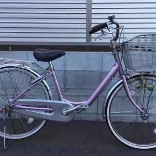 24インチ・ブリヂストン自転車・パープル