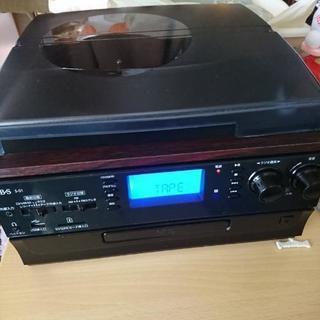 レコード CD ラジオ テープ レコーダー マルチレコーダー