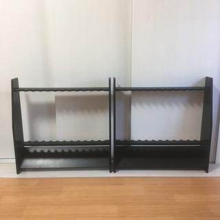 ♩値下げ♩ロッドスタンド  木製  2台set