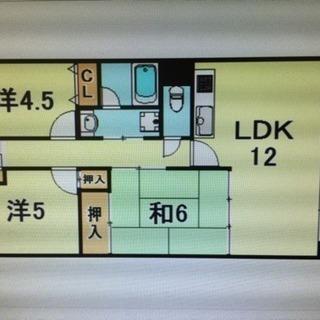 敷金礼金なし♫敷地内駐車場有り♫人気3LDKがこの家賃♫