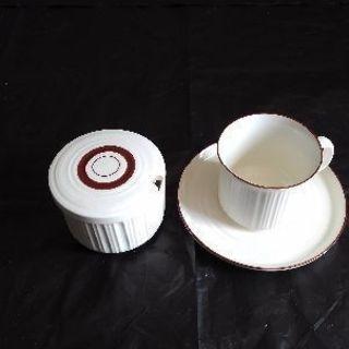 織部焼 カップ&ソーサー 新品未使用