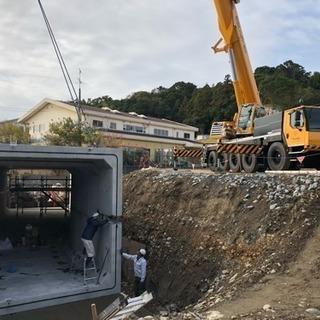 ボックスカルバート据付工事 及び防水工事