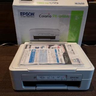 EPSONプリンター複合機カラリオPX-048A