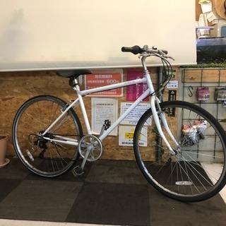 [700c]クロスバイク 白
