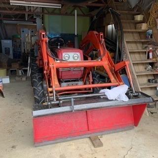 シバウラ トラクター バケット付き 30馬力