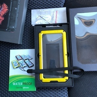 iPhone X防塵、防水、耐衝撃ケース