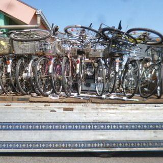 ■西三河全域 放置自転車無料引取 マンション アパートの不用自転...