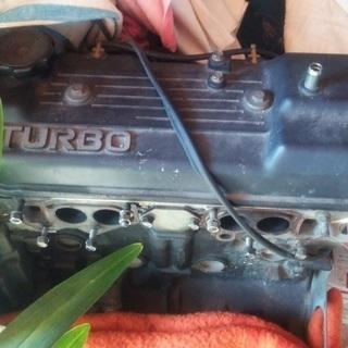 三菱ランサーターボ エンジン ジャンク品(S.58年式 通称ランタボ)