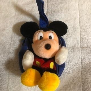ミッキーマウスのバッグ