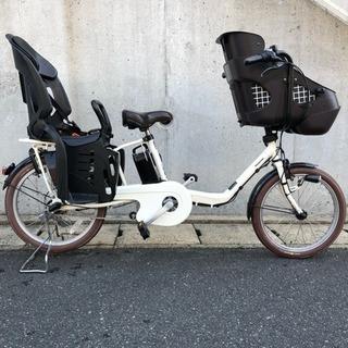 電動自転車 高年式 パナソニック 三人乗り 20型
