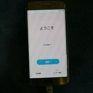 【値下げ】Galaxy s6 edge 64gb 中古品
