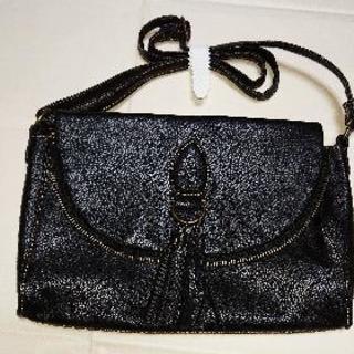 ☆新品☆黒のショルダーバッグ