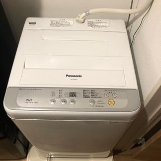 <2017年製>Panasonic洗濯機! 状態良好☆