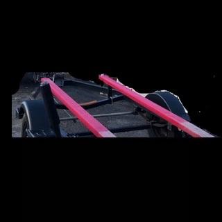 小型 ボートトレーラー 車検付き