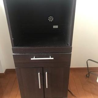 電子レンジや炊飯器置く棚