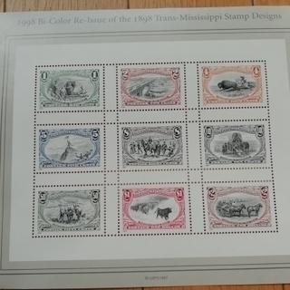 アメリカの切手・未使用・20年前 3種類