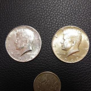 値下げしました。ケネディ50セント硬貨 ハーフダラーHelf D...