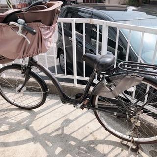 【お話中】子供乗せ自転車
