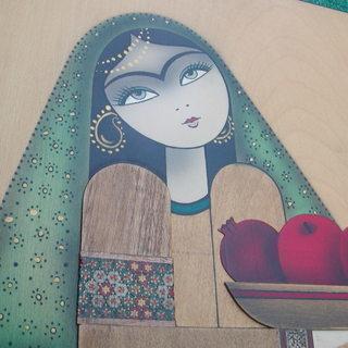 立体感がある壁掛けアート