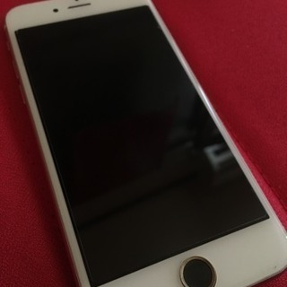 格安SIM可能全面カバー付きiPhone6S 64GB ローズゴー...